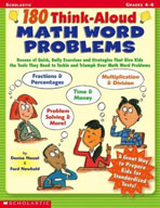 180 Think-Aloud Math Word Problems (Enhanced eBook)