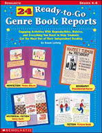 24 Ready-to-Go Genre Book Reports