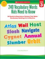 240 Vocabulary Words Kids Need to Know: Grade 3
