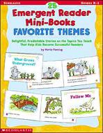 25 Emergent Reader Mini-Books: Favorite Themes