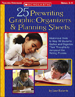 25 Prewriting Graphic Organizers & Planning Sheets