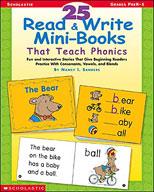 25 Read and Write Mini-Books That Teach Phonics