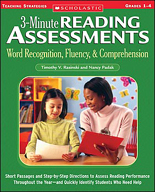3-Minute Reading Assessments: Word Recognition, Fluency, a