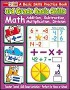 3rd Grade Basic Skills: Math: Addition, Subtraction, Multi