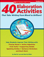 40 Elaboration Activities That Take Writing From Bland to