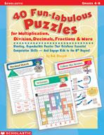 40 Fun-tabulous Puzzles