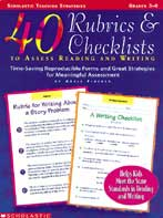 40 Rubrics & Checklists to Assess Reading and Writing (Enh