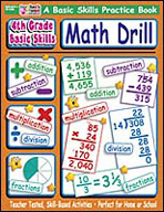 4th Grade Basic Skills: Math Drill