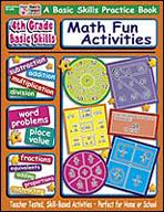 4th Grade Basic Skills: Math Fun Activities (Enhanced eBook)