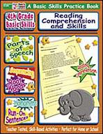 4th Grade Basic Skills: Reading Comprehension and Skills (