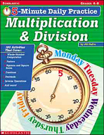 5-Minute Daily Practice: Multiplication & Division (Enhanc