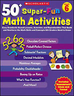 50+ Super-Fun Math Activities: Grade 6 (Enhanced eBook)