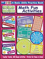 6th Grade Basic Skills: Fun Math Activities (Enhanced eBook)