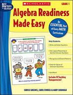 Algebra Readiness Made Easy: Grade 1 (Enhanced eBook)