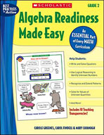 Algebra Readiness Made Easy: Grade 2 (Enhanced eBook)