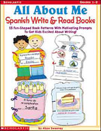 All About Me Spanish Write and Read Books