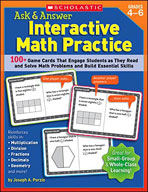 Ask and Answer Interactive Math Practice (Grades 4-6) (Enh