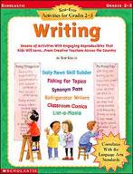Best-Ever Activities for Grades 2-3: Writing (Enhanced eBook)