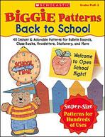 Biggie Patterns: Back to School