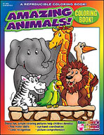 Coloring Book: Amazing Animals (Enhanced eBook)