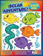 Coloring Book: Ocean Adventures (Enhanced eBook)