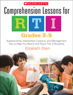 Comprehension Lessons for RTI: Grades 3-5 (Enhanced eBook)