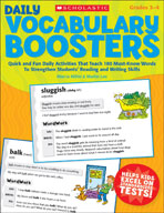 Daily Vocabulary Boosters (Enhanced eBook)