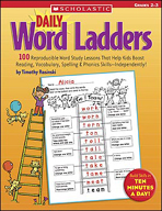 Daily Word Ladders: Grades 2-3 (Enhanced eBook)