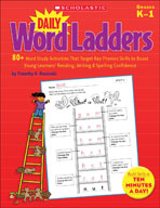 Daily Word Ladders: Grades K-1