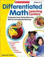 Differentiated Math Learning Centers (Enhanced eBook)