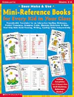 Easy Make & Use Mini-Reference Books For Every Kid in Your