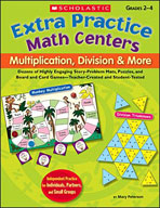 Extra Practice Math Centers: Multiplication, Division & More