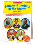 Famous American of the Month Flip Chart (Enhanced eBook)