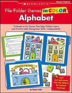 File-Folder Games in Color: Alphabet (Enhanced eBook)