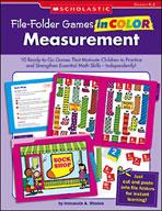 File-Folder Games in Color: Measurement (Enhanced eBook)