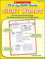 Fill-in-the-Blank Stories: Sight Words (Enhanced eBook)