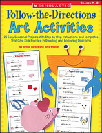 Follow-the-Directions Art Activities