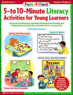 Fun-Filled 5 to 10 Minute Literacy Activities for Young Le