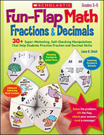 Fun-Flap Math: Fractions and Decimals (Enhanced eBook)