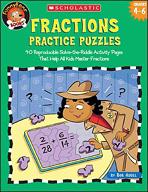 FunnyBone Books: Fractions Practice Puzzles (Enhanced eBook)
