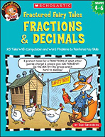 FunnyBone Books: Fractured Fairy Tales: Fractions & Decima