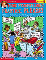 FunnyBone Books: More Proofreading Practice, Please (Grade 4)