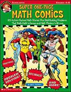 FunnyBone Books: Super One-Page Math Comics