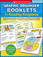 Graphic Organizer Booklets for Reading Response (Grades 2-