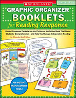 Graphic Organizer Booklets for Reading Response (Grades 4-