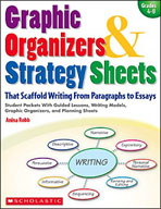 Graphic Organizers and Strategy Sheets That Scaffold Writi