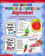 Guess-Me Poems & Puzzles: Alphabet (Enhanced eBook)