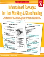 Informational Passages for Text Marking & Close Reading: G