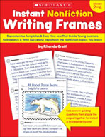 Instant Nonfiction Writing Frames