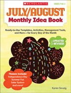 July and August Monthly Idea Book (Enhanced eBook)